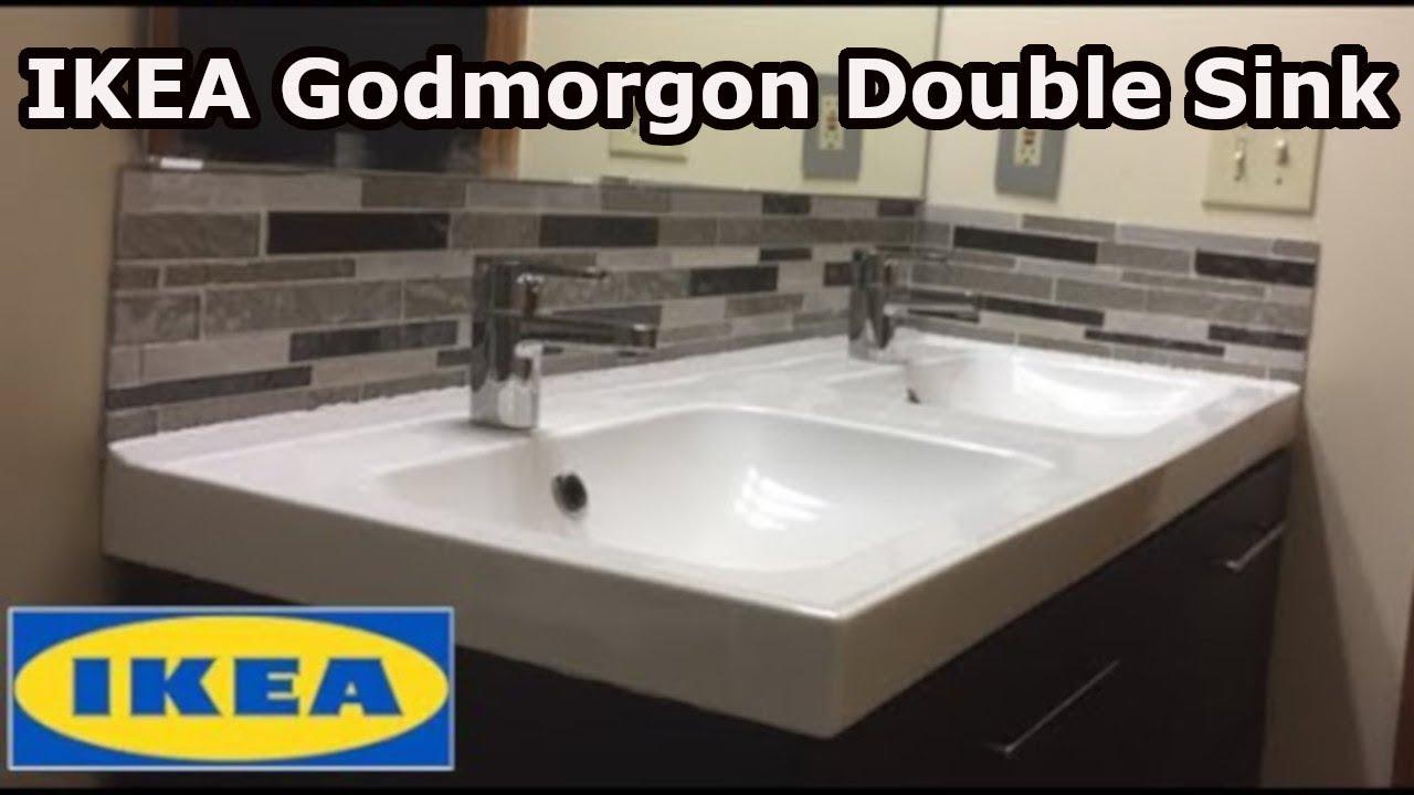 IKEA Godmorgon Double Sink Installation