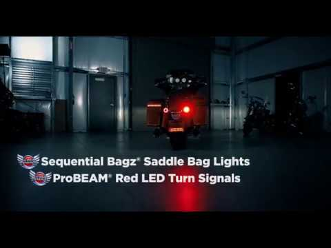 Sequential BAGZ™ LEDs & ProBEAM® Rear Turn Signals