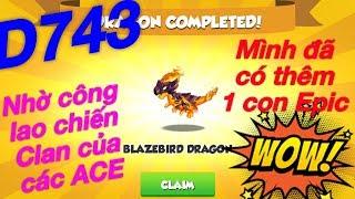 Dragon mania legends Boss Đảo Rồng Huyền Thoại ngày 743