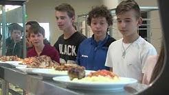Un repas 100% bio dans les collèges du Val d'Oise