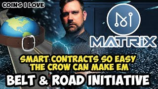 Why I Love MATRIX AI - MAN Token - Belt And Road - AI Supported Smart Contracts Without Coding 🚀😱