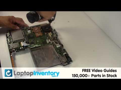 Fujitsu Lifebook FAN Replacement HeatSink - Install Fix Replace - Laptop T5010 S6210 T4020