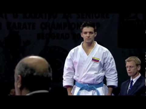 Antonio Diaz of Venezuela :: Individual Karate Kata Male Final :: WKF Belgrade 2010