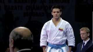 Antonio Diaz of Venezuela :: Individual Karate Kata Male Final :: WKF Belgrade 2010