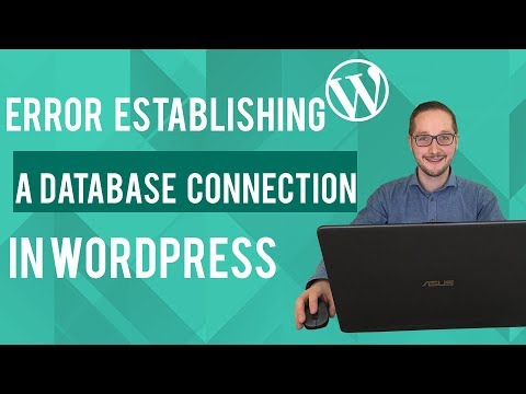 How to fix the error establishing a database connection in Wordpress Tutorial thumbnail