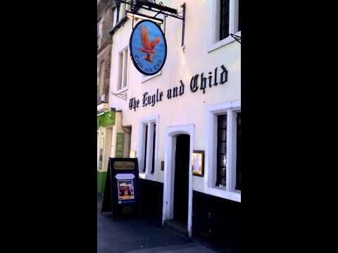Eagle and Child pub Oxford, visit Oxford, walking tours Oxford university tours
