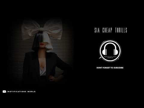 Sia Cheap Thrills Ringtone | Notifications World | (Direct Download Link)