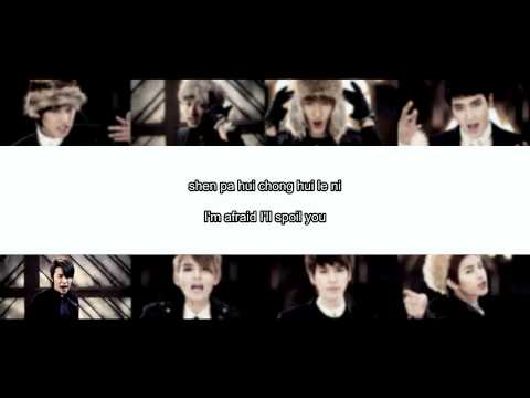 Super Junior M S.O.L.O lyrics [拼音. Pinyin. Eng.]