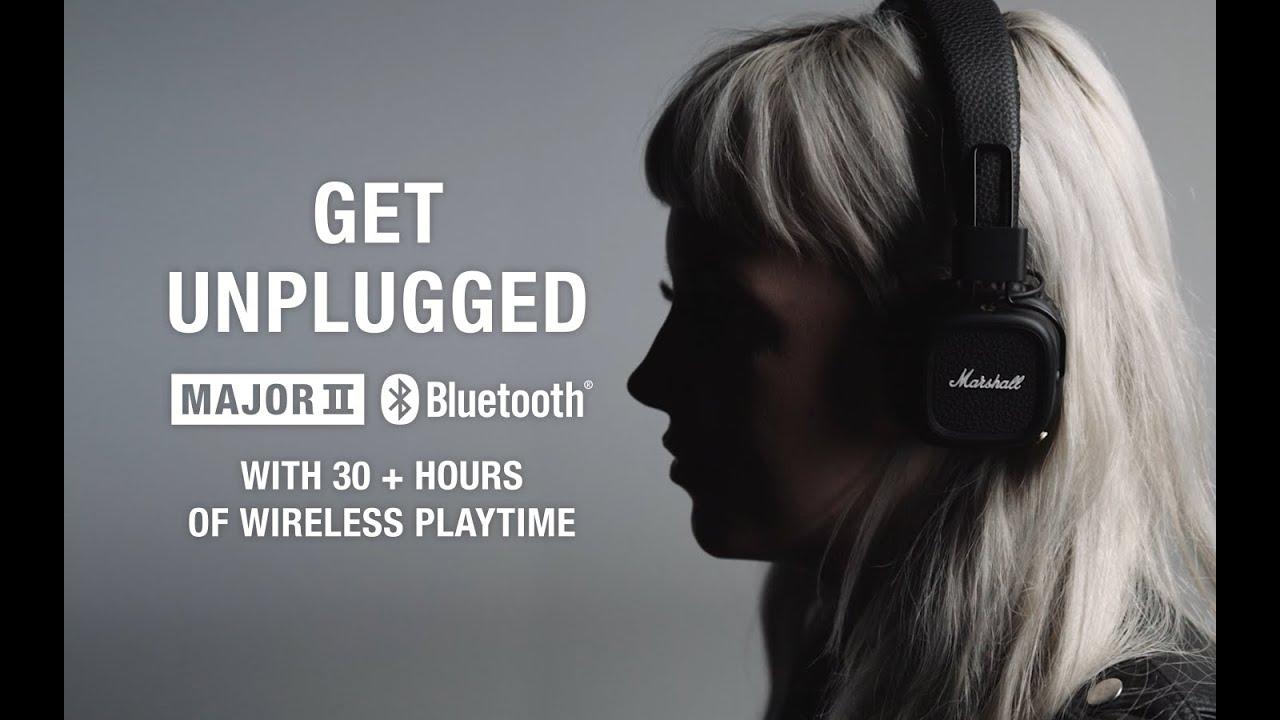 4173012bf39 Marshall - Major II Bluetooth Headphone - Product Video - YouTube