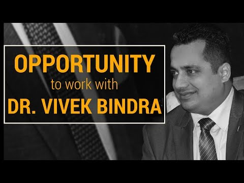 Opportunity to Join Dr Vivek Bindra | We Are Hiring!