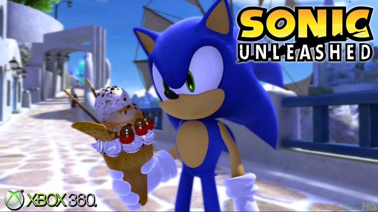 Sonic Unleashed Xbox 360 Ps3 Gameplay 2008 Youtube