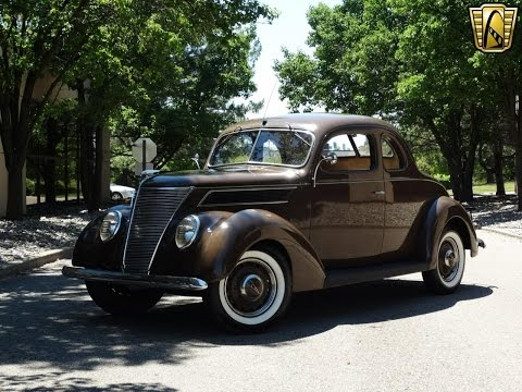 1937 Ford Coupe Stock #700-DET