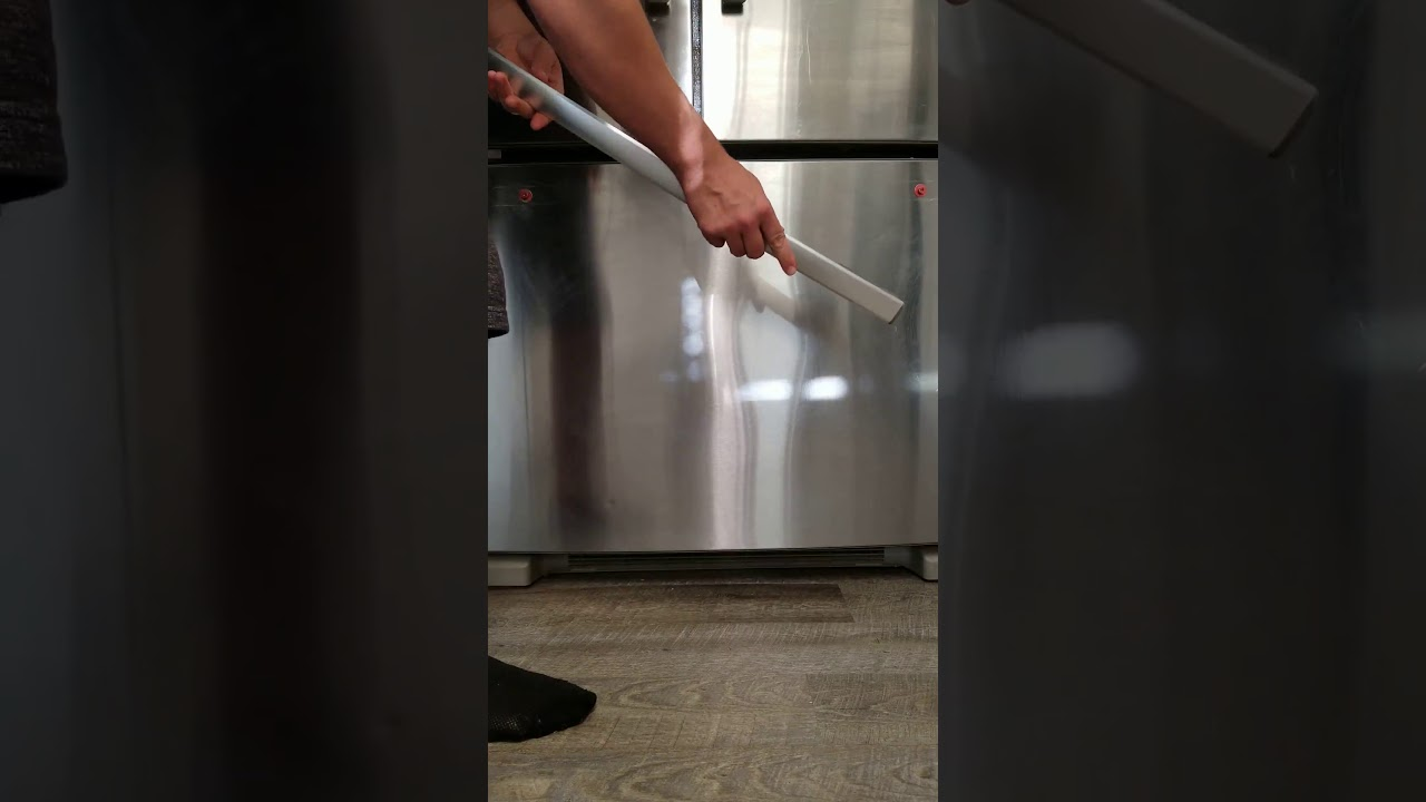 how to take the handles off a whirlpool refrigerator