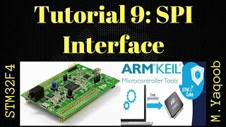 STM32F4 Discovery board - Keil 5 IDE with CubeMX: Tutorial 9 SPI - Updated Nov 2017