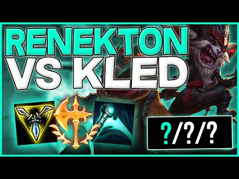 RTO | HOW TO BEAT KLED AS RENEKTON - SHOWING THEM WHO'S THE BOSS