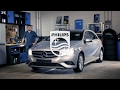 Cómo cambiar las lámparas de los faros de tu Mercedes-Benz A-Class - Philips automotive lighting