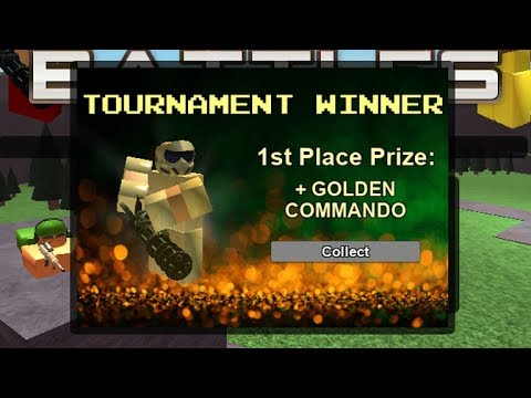 How To Win Golden Commando Tower Battles Youtube