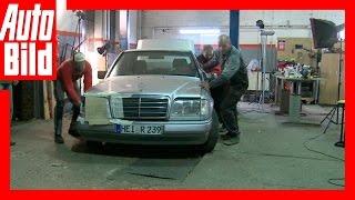Mercedes E-Klasse W124 - Rettung einer Rostlaube in einer Nacht (2016)
