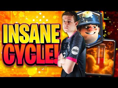 🤩BEST MINER POISON DECK IN CLASH ROYALE! UNBELIEVABLE CYCLE! Clash Royale
