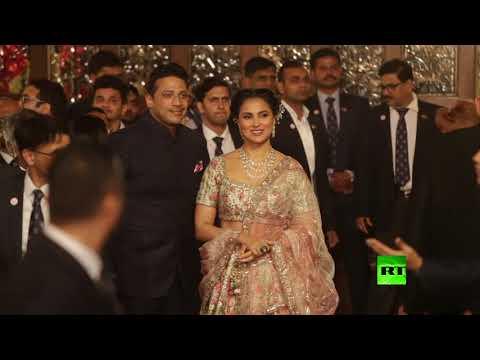 مشاهد جديدة من أغلى حفل في الهند  - نشر قبل 2 ساعة