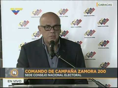 Jorge Rodríguez sobre elecciones 10-D: Se harán micro-cadenas para candidatos chavistas y opositores