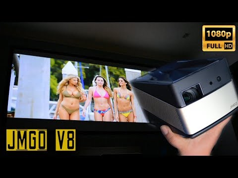 Powerful LCOS Projector Full 1080p HD - JMGO V8 vs Xgimi H1 Review