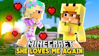 Minecraft Date - DOES BABY LEAH LOVE ME AGAIN - Baby Duck Adventures