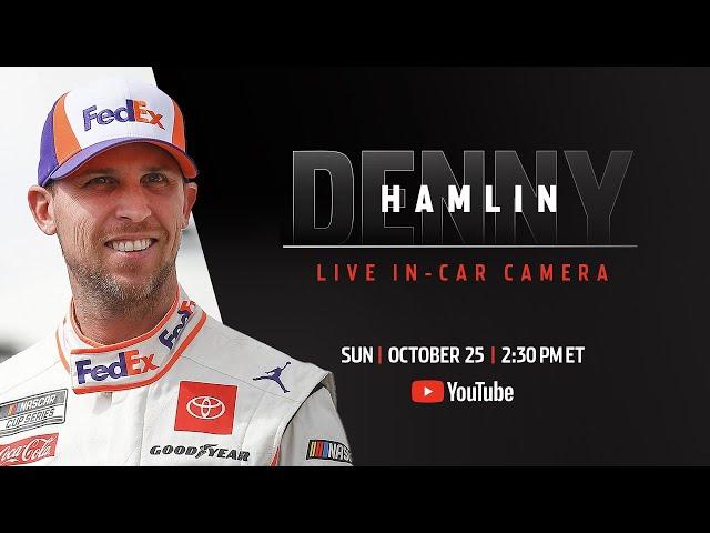 Denny Hamlin live in-car camera presented by Coca-Cola | NASCAR Playoffs at Texas Motor Speedway