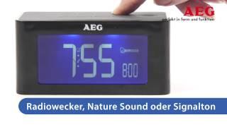 Радиобудильник AEG MRC 4140 i
