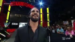 Seth Rollins Returns Entrance to RAW 2016