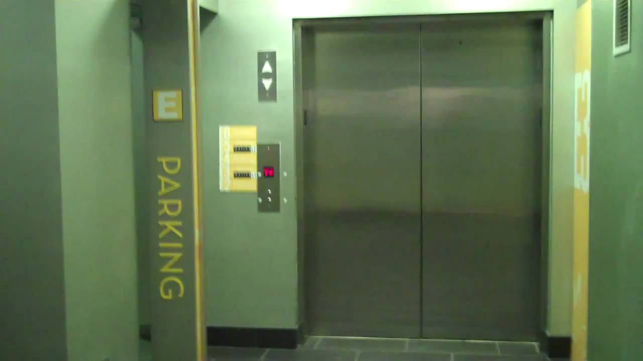 Natick Schindler Highdraulic Hidden E Parking Elevator