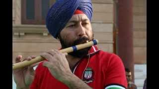 GALLI MAI AAJ CHAND NIKLA ON FLUTE BY BALJINDER SINGH JI +919302570625