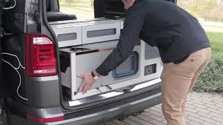 차박캠핑에 필요한 캠핑용품 에고이 - VW 멀티밴에 네…