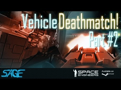 """Space Engineers, Vehicle Deathmatch, (The """"Battles"""")"""