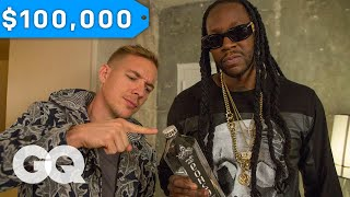 Download 2 Chainz & Diplo Try $100K Bottled Water   Most Expensivest Sh*t   GQ Mp3 and Videos