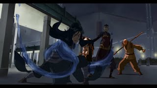 Comic Uno The Legend of Korra Book 3 Episode 8