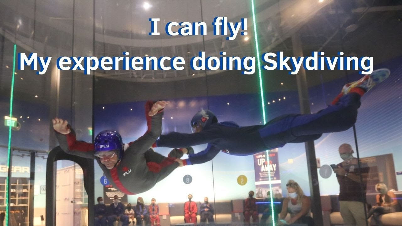 I can fly! My experience doing Skydiving