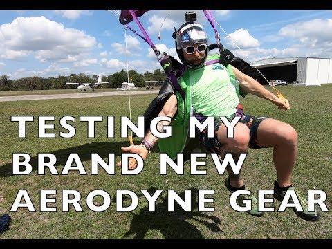 VLOG - Testing My Brand New AEROYNE GEAR!