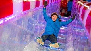 ice at gaylord opryland nashville tn 2014