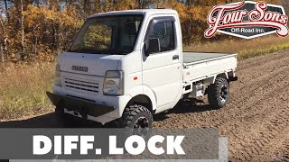 Custom Suzuki Carry Mini Truck with Diff.  Lock!  Test Drive