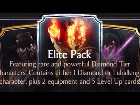 Mortal Kombat X - Diamond Tier Elite Pack Opening