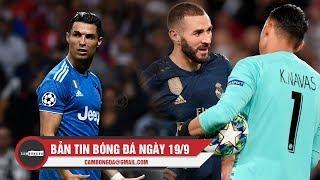Bản tin Cảm Bóng Đá ngày 19/9 | Real thảm bại trước PSG; Ronaldo im lặng trước Atletico