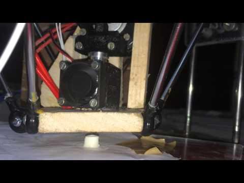First 3D Print By Our New Handmade Jugaadu Printer..!!