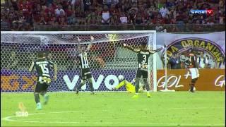 Gols Botafogo 2 x 1 Flamengo- Brasileirão 2014 Série A - Sportv HD