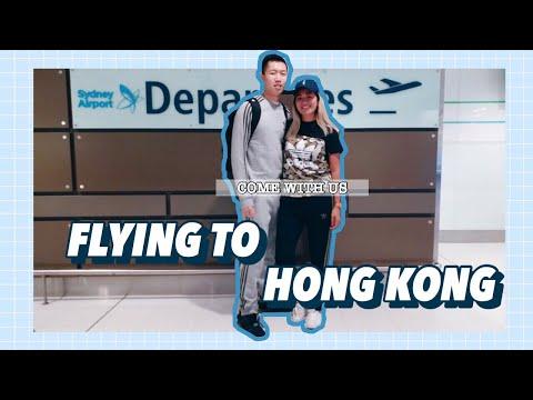 FLYING TO HONG KONG - HONG KONG TRAVEL VLOG 2018