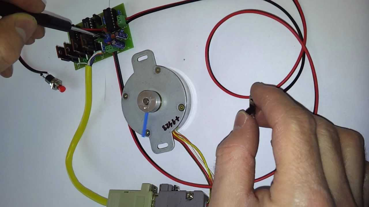 4 Wire Arduino Diagram Stepper Motor Driver Mp4 Youtube