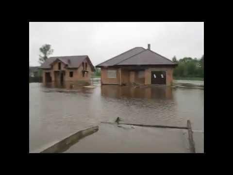 Bełchatów podtopienia, powódź 2010