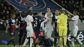 Football Fights of 2014 - Fouls,Dives,Red Cards, Dives || HD