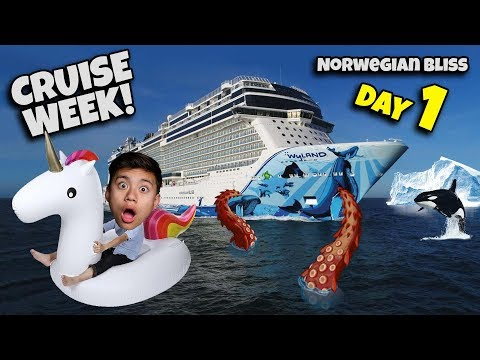 CRUISE WEEK ALASKAN ADVENTURE on The Norwegian Bliss