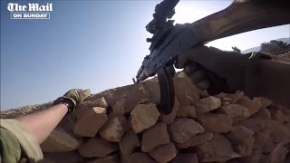 GoPro HD footage: British YPG fighter in action against ISIS in Syria
